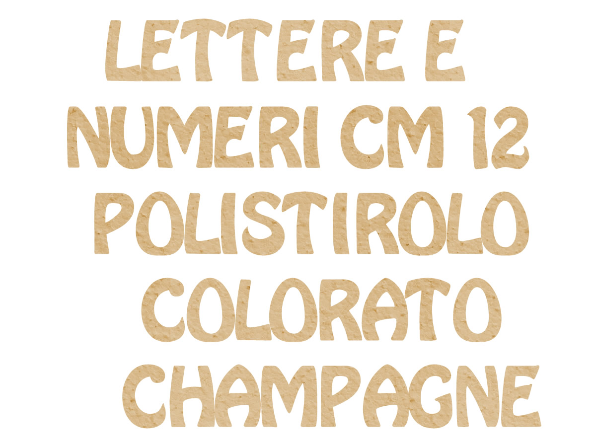 POLY COLOR CHAMPAGNE