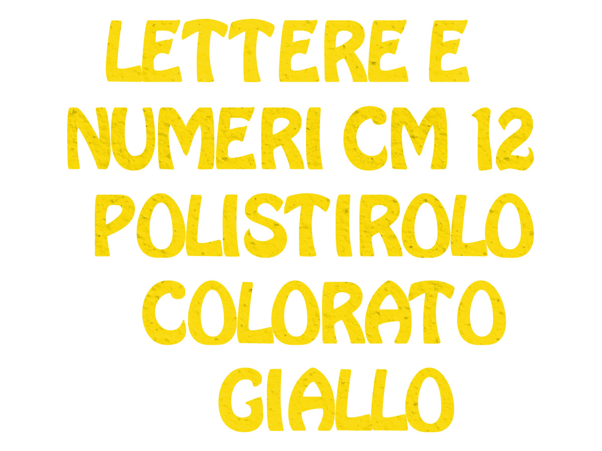 POLY COLOR GIALLO