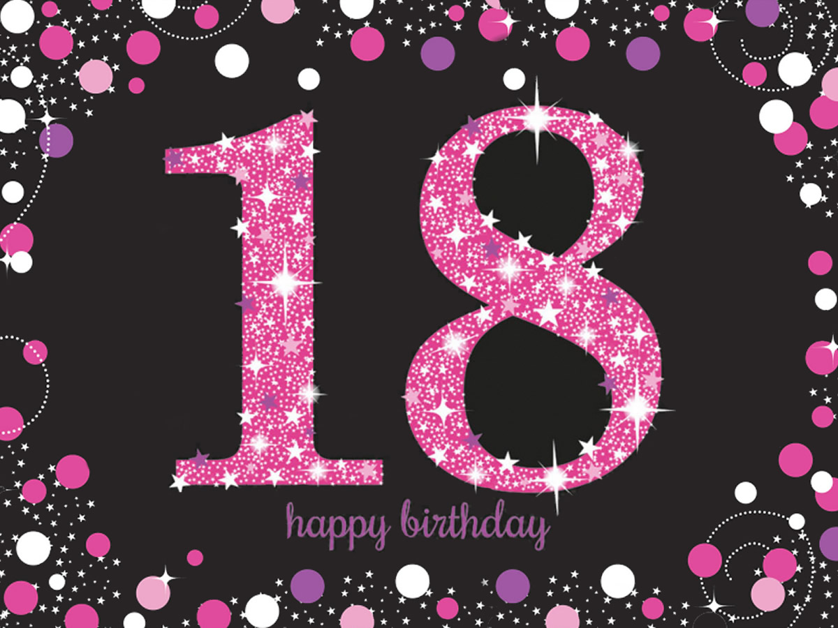 18 ANNI SPARKLING CELEBRATION FUXIA