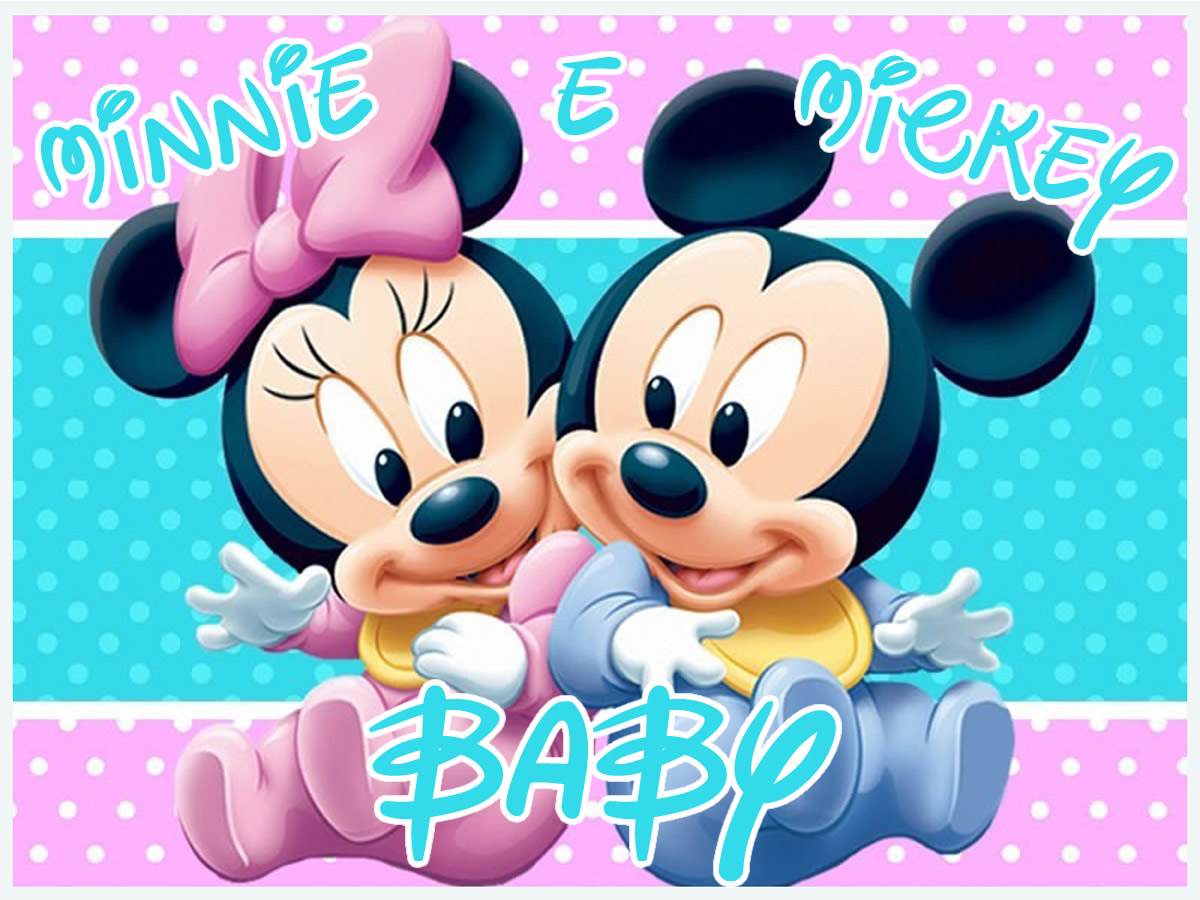 BABY MINNIE E MICKEY