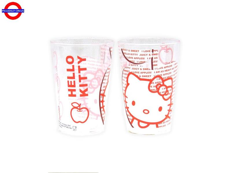 BICCHIERE HELLO KITTY LOVE