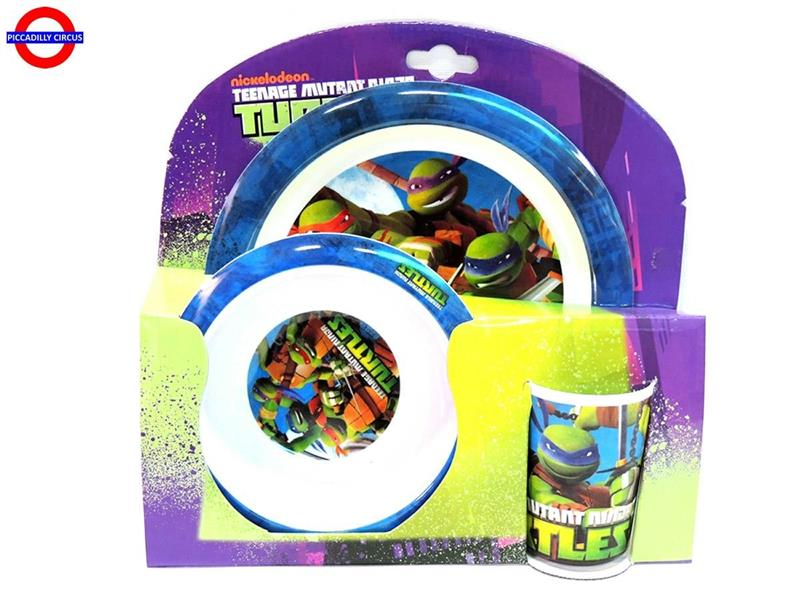 SET PAPPA NINJA TURTLES CF.3 PEZZI