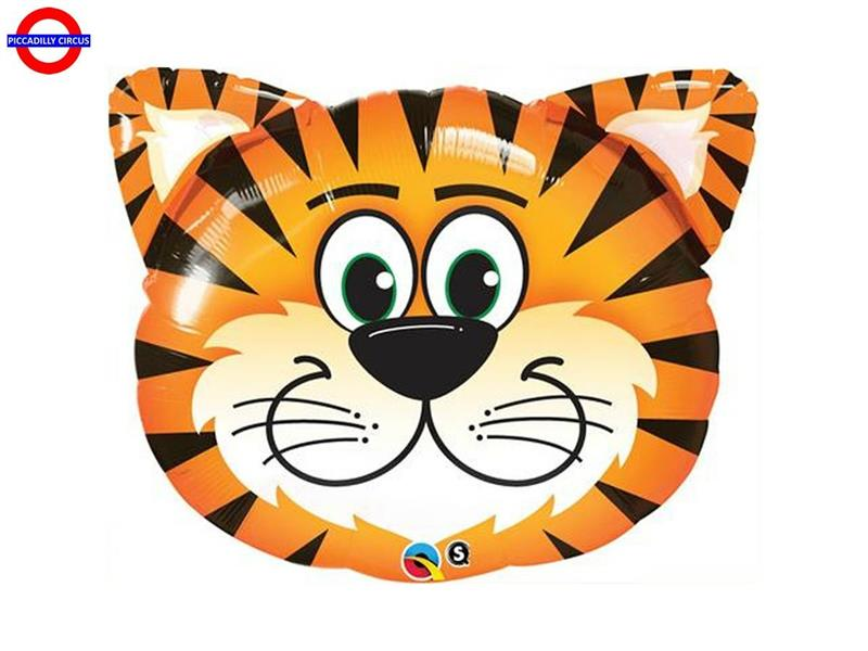 MYLAR ANIMAL SUPER SHAPE TESTA TIGRE 30
