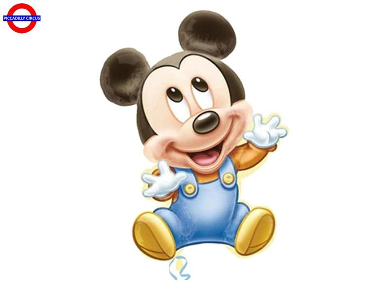 MYLAR BABY MICKEY SUPER SHAPE