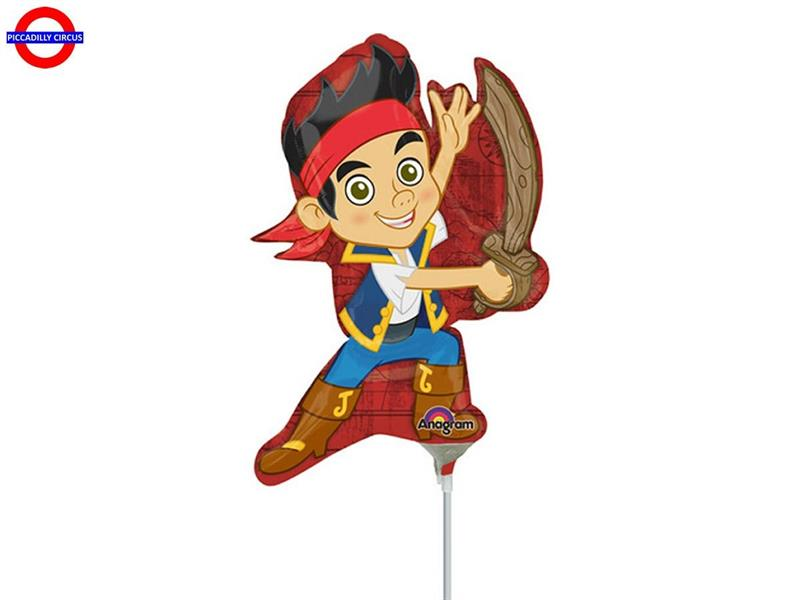 MYLAR JACK IL PIRATA MINI SHAPE
