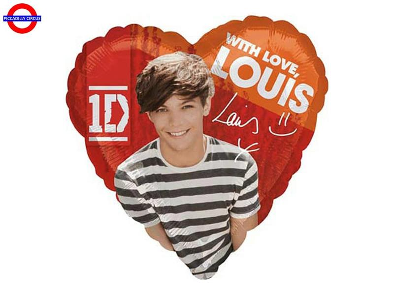 MYLAR ONE DIRECTION 18 LOUIS