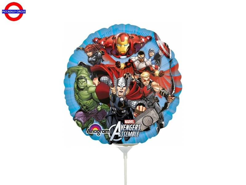 MYLAR AVENGERS MINI SHAPE