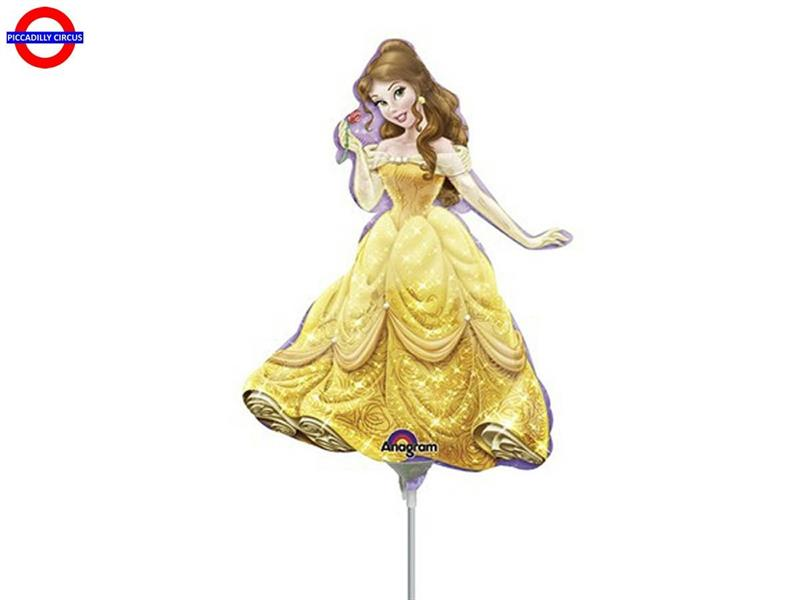 MYLAR PRINCIPESSA BELLA MINI SHAPE