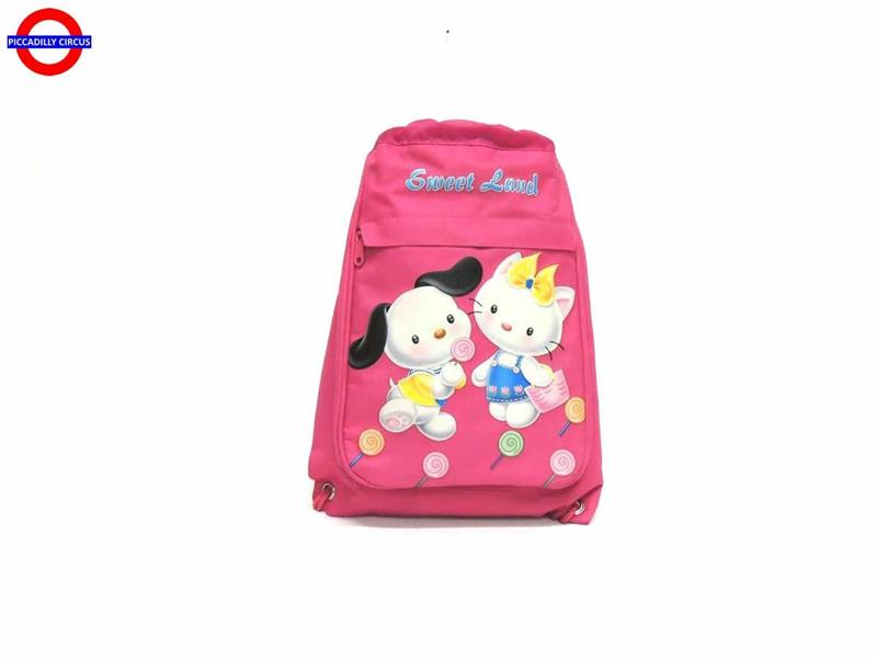 SACCA SWEET LAND FUXIA CM.27X37 2 SCOMPARTI