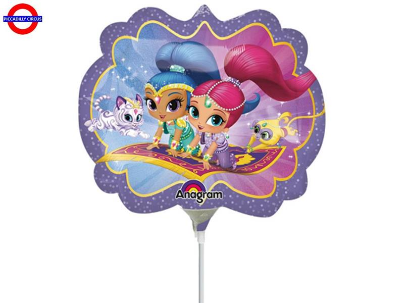 MYLAR SHIMMER AND SHINE MINI SHAPE