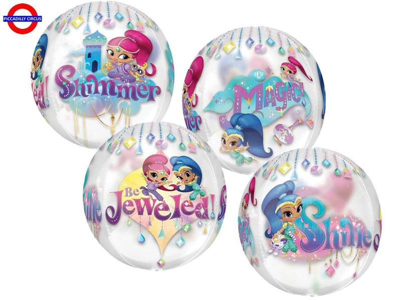 MYLAR SHIMMER AND SHINE ORBZ
