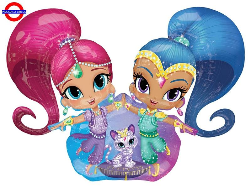 MYLAR SHIMMER AND SHINE AIRWALKER 53