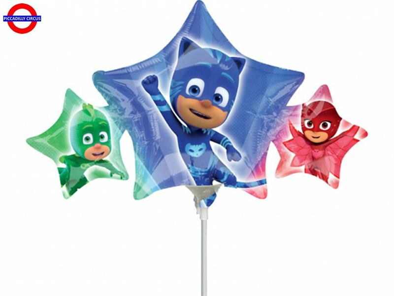 MYLAR PJ MASKS MINI SHAPE STELLA