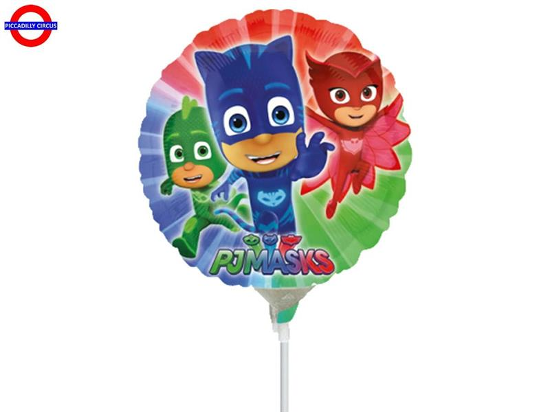 MYLAR PJ MASKS MINI SHAPE TONDO 9