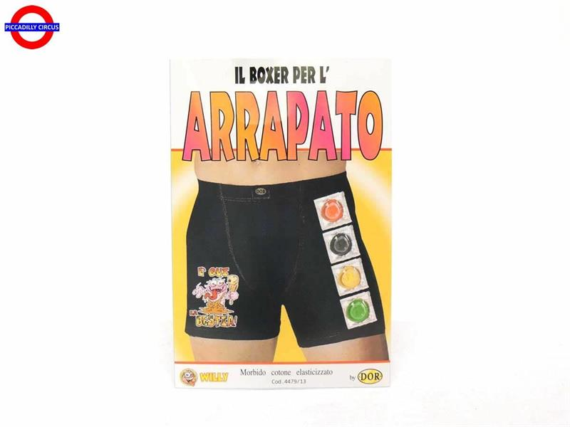 BOXER CRAZY ARRAPATO