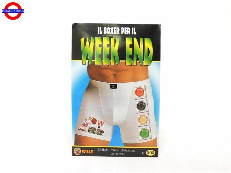 BOXER CRAZY WEEK END