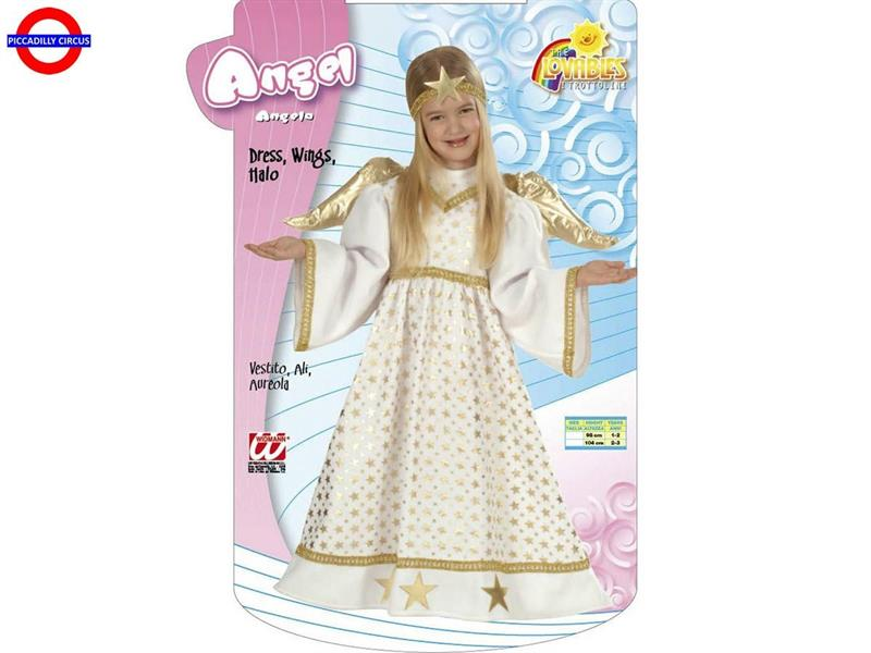 COSTUME ANGELO - BABY 02-03 ANNI