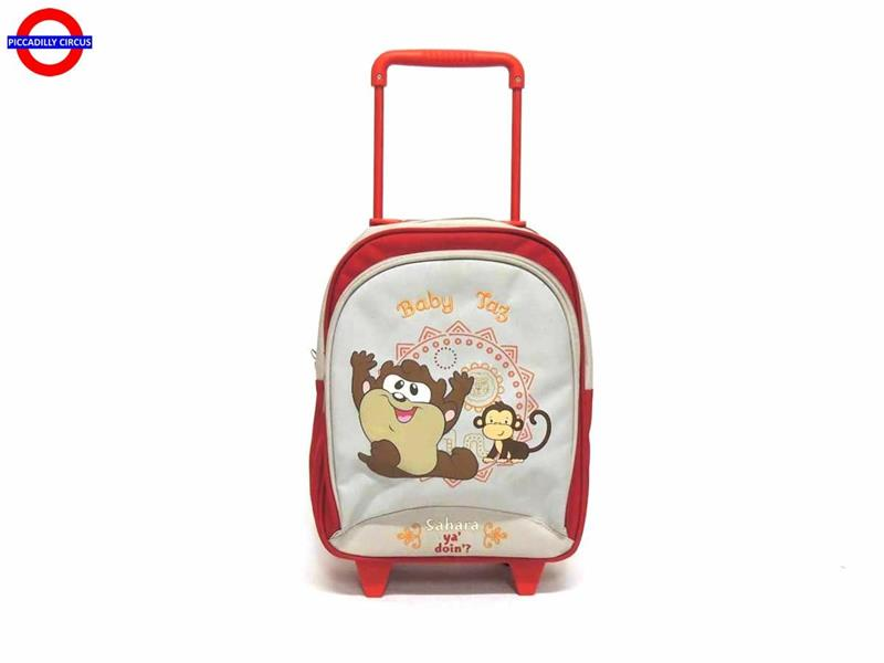 TROLLEY ASILO BABY LOONEY TUNES ROSSO CM.33