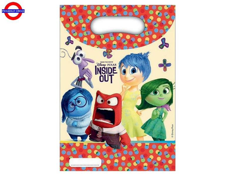 INSIDE OUT 6 PARTY BAGS