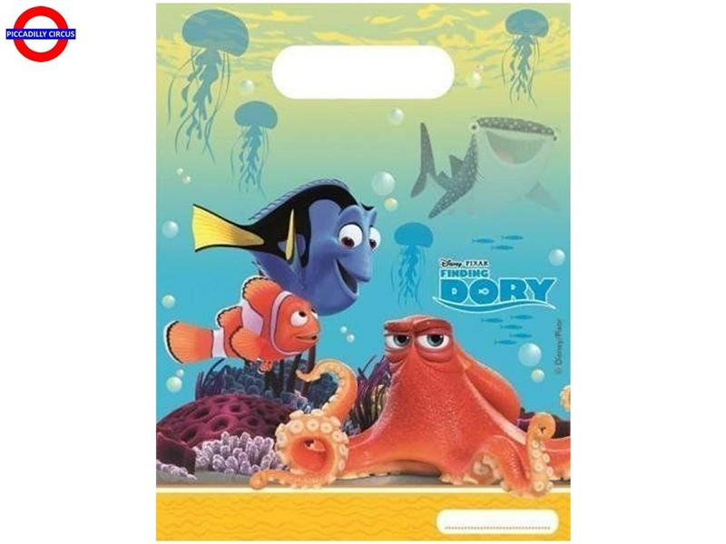 FINDING DORY 6 PARTY BAGS