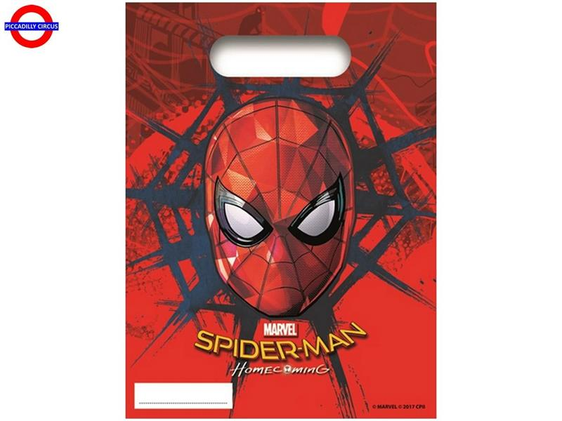 SPIDERMAN HOMECOMING 6 PARTY BAG