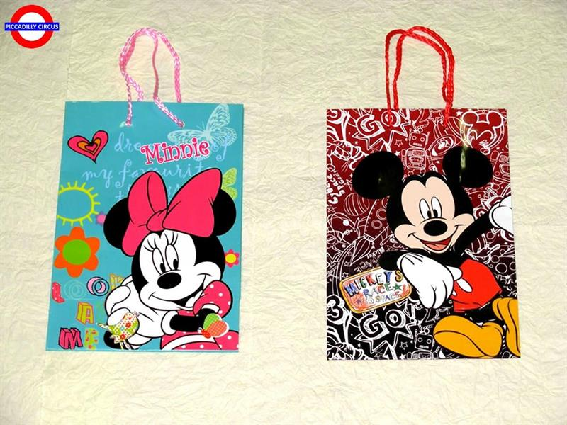 SHOPPER MINNIE & MICKEY 13X18X8