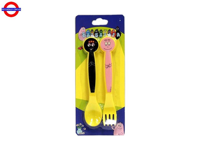 SET 2 POSATE BARBAPAPA`