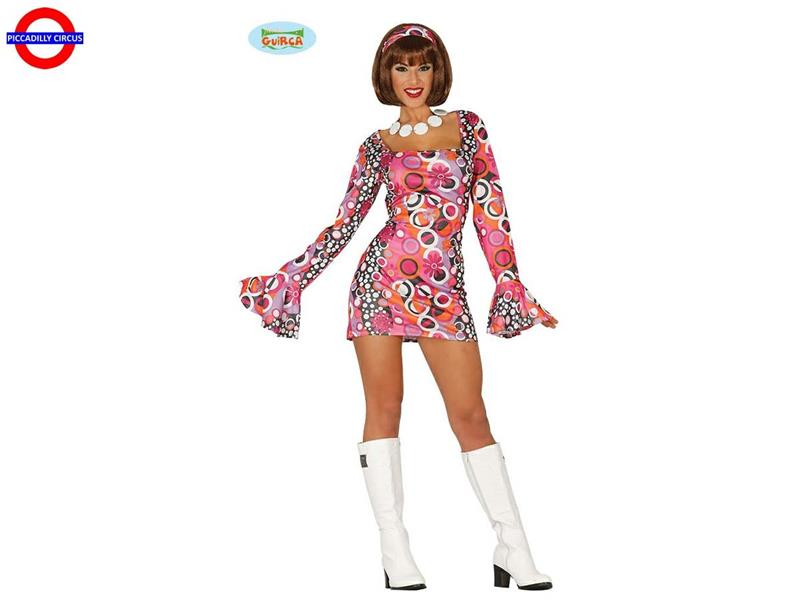 COSTUME 70'S DISCO NIGHT - DONNA TG.M