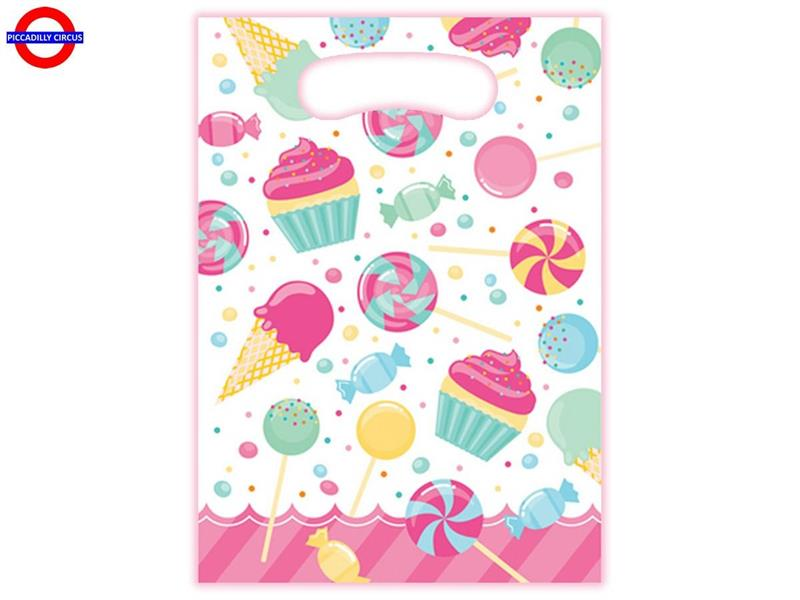 BUON COMPLEANNO CANDY BOUQUET 8 PARTY BAGS