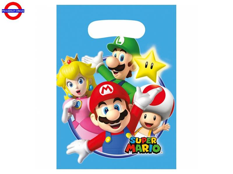 SUPER MARIO NEW 8 PARTY BAG