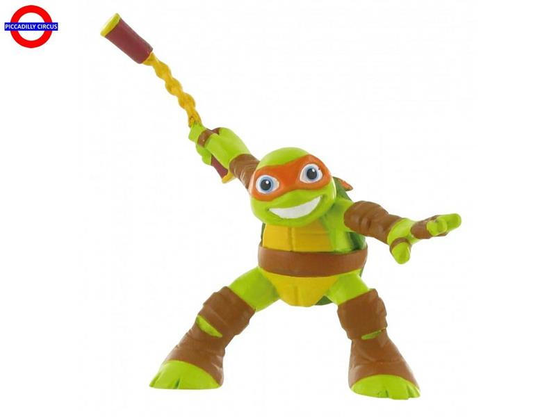 COLLEZ. NINJA TURTLES - MICHELANGELO H CM.10.5