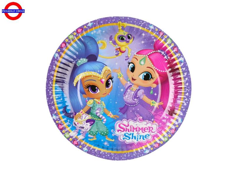 SHIMMER AND SHINE 8 PIATTI D.18
