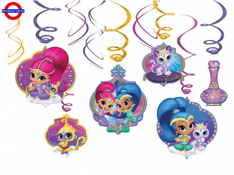 SHIMMER AND SHINE 6 PENDENTI