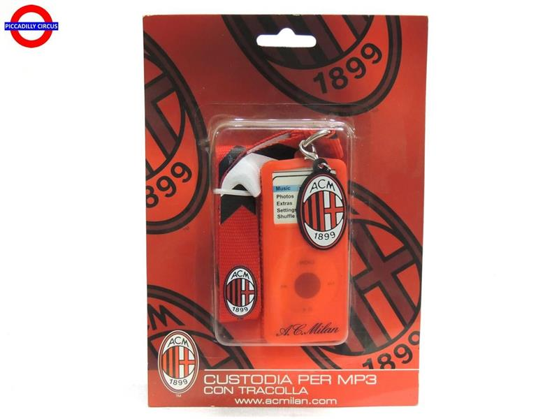 AC MILAN CUSTODIA PER MP3 IN SILICONE