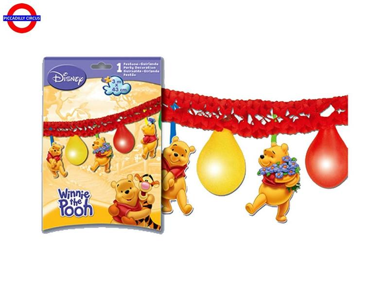 WINNIE THE POOH  KIT PALLONCINI