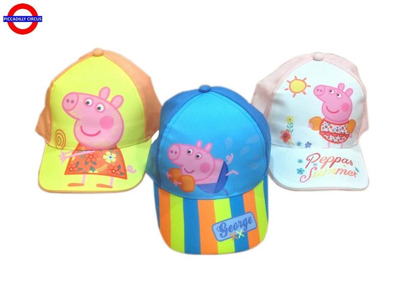 CAPPELLINO PEPPA PIG 3 ASS.