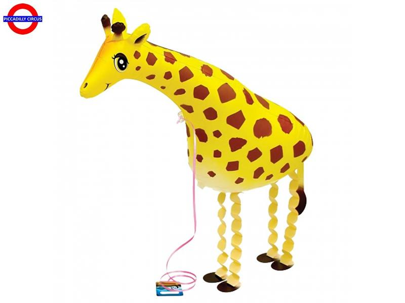 MYLAR ANIMAL GIRAFFA AIRWALKER