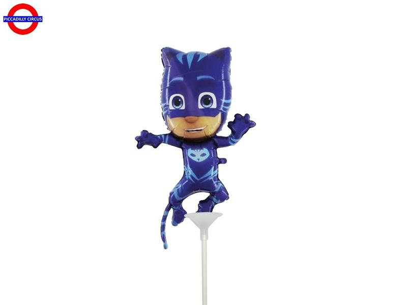 MYLAR PJ MASKS MINI SHAPE GATTO BOY