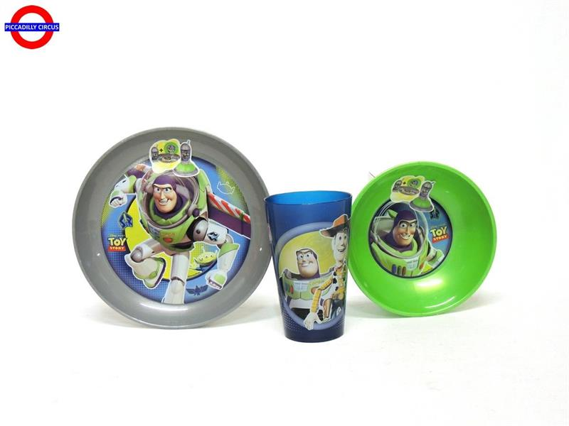 SET PAPPA TOY STORY BUZZ LIGHTYEAR CF.3 PEZZI
