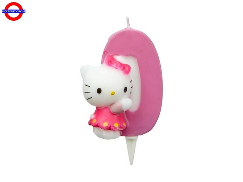 CANDELINA HELLO KITTY CM.7 N°0