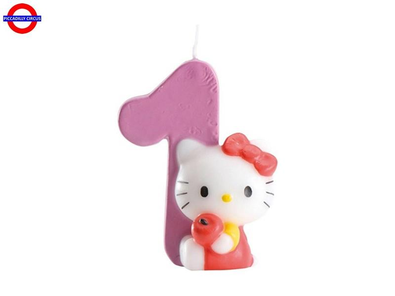 CANDELINA HELLO KITTY CM.7 N°1