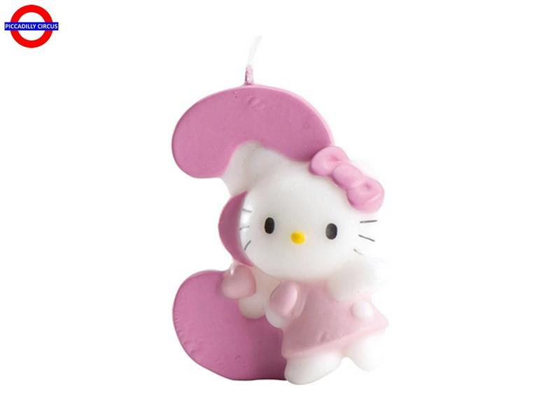 CANDELINA HELLO KITTY CM.7 N°3