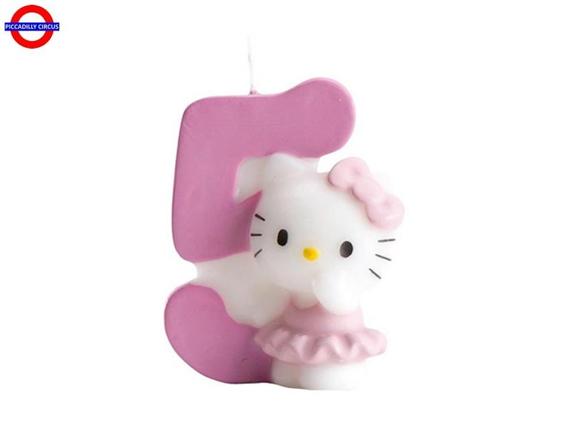 CANDELINA HELLO KITTY CM.7 N°5