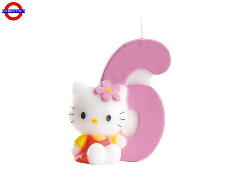 CANDELINA HELLO KITTY CM.7 N°6