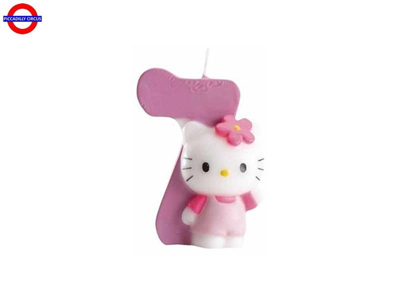 CANDELINA HELLO KITTY CM.7 N°7