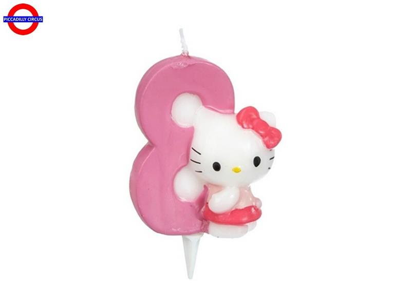 CANDELINA HELLO KITTY CM.7 N°8