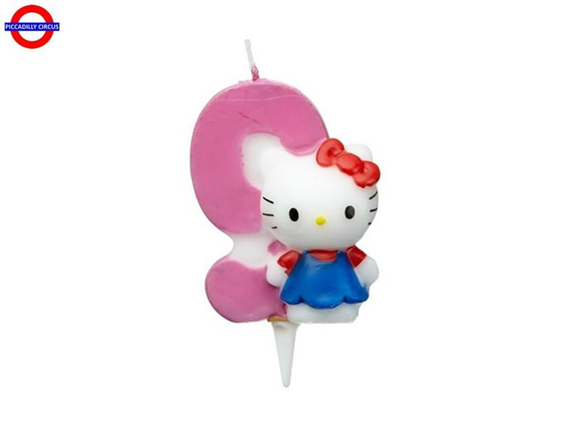CANDELINA HELLO KITTY CM.7 N°9