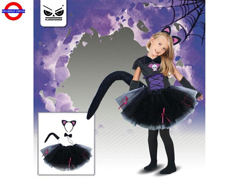 SET BABY BLACK CAT 2/6 ANNI 4PZ