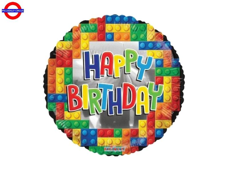MYLAR LEGO 18 HAPPY BIRTHDAY