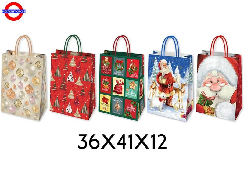 SHOPPER NATALE 36X41X12 5 ASS.